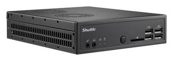 Shuttle DS81 Intel H81 Socket H3 (LGA 1150) Net-top Zwart PC/workstation barebone