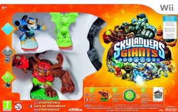 Skylanders Giants Starter Pack (Exclusive Version) (Nintendo Wii)