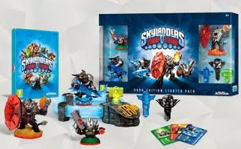 Skylanders Trap Team Starterpack Dark Edition (Nintendo Wii)