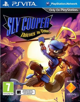 Sly Cooper Thieves in Time (PS Vita)