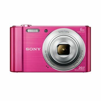 """Sony Cyber-shot DSC-W810 20.1MP 1/2.3"""" CCD 5152 x 3864pixels Pink"""