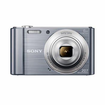 """Sony Cyber-shot DSC-W810 20.1MP 1/2.3"""" CCD 5152 x 3864pixels Silver"""