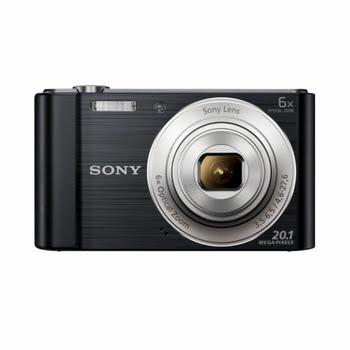 """Sony Cyber-shot DSC-W810 20.1MP 1/2.3"""" CCD 5152 x 3864Pixels Zwart"""
