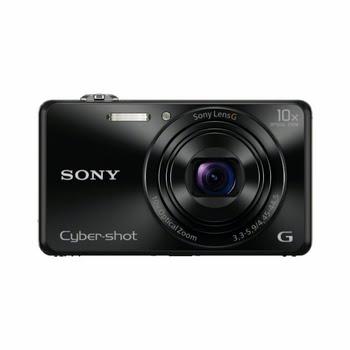 """Sony Cyber-shot DSC-WX220 18.2MP 1/2.3"""" CMOS 4896 × 3264Pixels Zwart"""