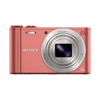 """Sony Cyber-shot DSC-WX350 18.2MP 1/2.3"""" CMOS 4896 × 3264Pixels Roze"""