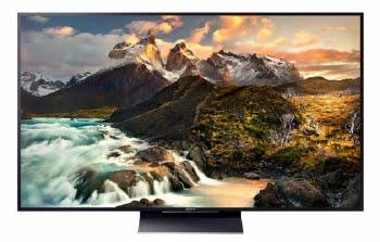 """Sony KD65ZD9 65"""" 4K Ultra HD 3D Smart TV Wi-Fi Zwart, Goud"""