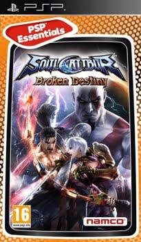 Soul Calibur Broken Destiny (essentials) (Sony PSP)