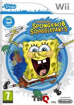 SpongeBob De Onnozele Krabbelaar (uDraw only) (Nintendo Wii)