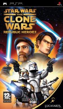 Star Wars The Clone Wars Republic Heroes (Sony PSP)