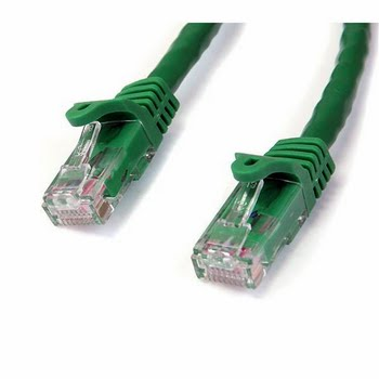 StarTech.com 2.13m Cat6 UTP 7.62m Groen netwerkkabel