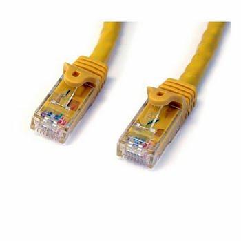 StarTech.com 4.57m Cat6 UTP 4.57m Geel netwerkkabel