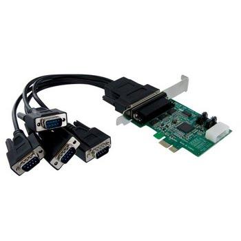 StarTech.com 4-poort Native PCI Express RS232 Seriële Kaart met 16950 UART