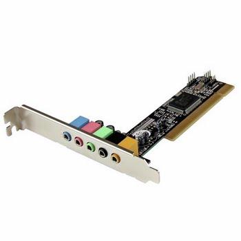 StarTech.com 5.1 kanaals PCI surround sound-kaartadapter