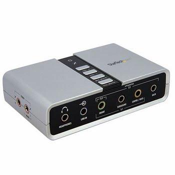StarTech.com 7.1 USB Audio-adapter Externe Geluidskaart met SPDIF Digitale Audio