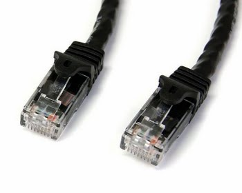 StarTech.com Cat6 patchkabel met snagless RJ45 connectors 3 m, zwart