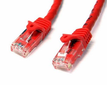 StarTech.com Cat6 patchkabel met snagless RJ45 connectors 5 m, rood