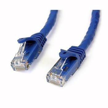 StarTech.com N6PATCH100BL 30.49m Blauw netwerkkabel