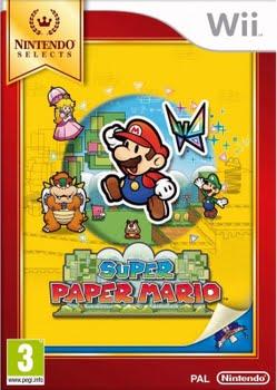 Super Paper Mario (Nintendo Selects) (Nintendo Wii)