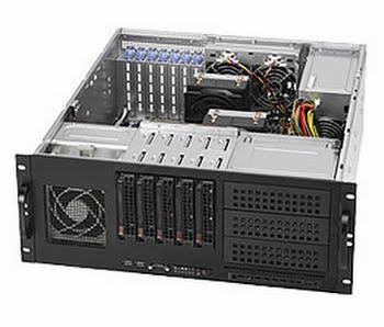 Supermicro SuperChassis 842TQ-665B Rack Zwart 665W computerbehuizing
