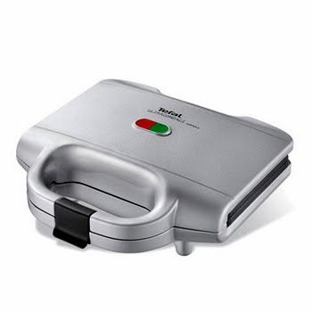 Tefal Tosti-apparaat - Ultracompact zilvergrijs SM1591