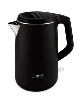 Tefal Waterkoker - Safe to Touch Soft black KO3718