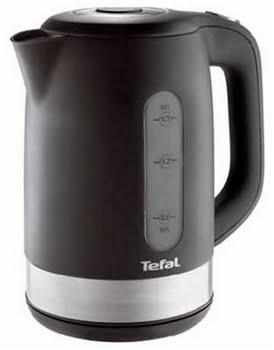 Tefal Waterkoker - Snow zwart 1,7 ltr KO3308