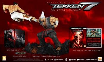 Tekken 7 Collector's Edition (+ Pre-Order Bonus) (PS4)