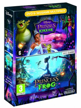 The Princess and the Frog with DVD (Nintendo Wii)