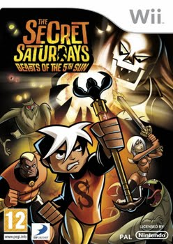 The Secret Saturdays (Nintendo Wii)