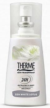 Therme Zen White Lotus Deodorant Spray Anti-Transpirant 75ml