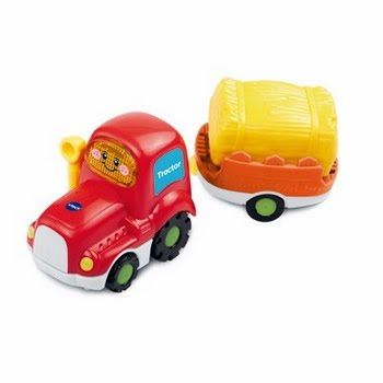 Toet Toet Auto's Tractor met Trailer