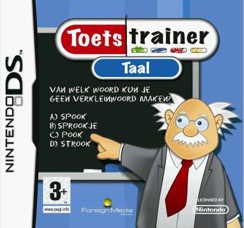 Toets Trainer Taal (Nintendo DS)