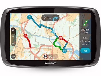 "TomTom GO 6100 WORLD Vast 6"" Touchscreen 300g"