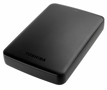 "Toshiba Canvio Basics 2.5"" 3TB 3000GB Zwart"