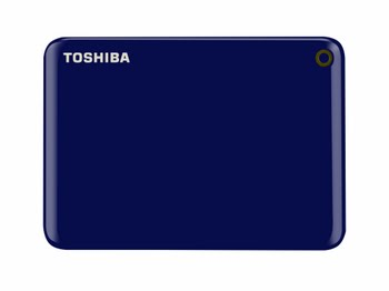 Toshiba Canvio Connect II 1TB USB Type-A 3.0 (3.1 Gen 1) 1000GB Blauw externe harde schijf