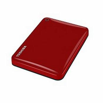 Toshiba Canvio Connect II 2TB USB Type-A 3.0 (3.1 Gen 1) 2000GB Rood externeharde schijf