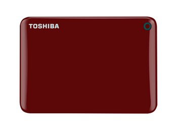 Toshiba Canvio Connect II 500GB USB Type-A 3.0 (3.1 Gen 1) 500GB Rood externe harde schijf