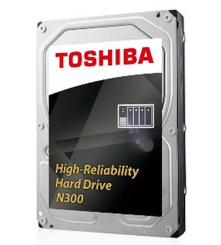 Toshiba N300 4TB 4000GB SATA III interne harde schijf