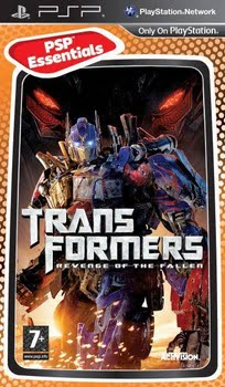 Transformers Revenge of the Fallen (essentials) (Sony PSP)