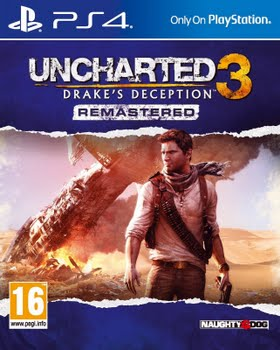 Uncharted 3 Drake's Deception Remastered (PS4)