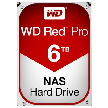 WD Red Pro WD6002FFWX 6 TB