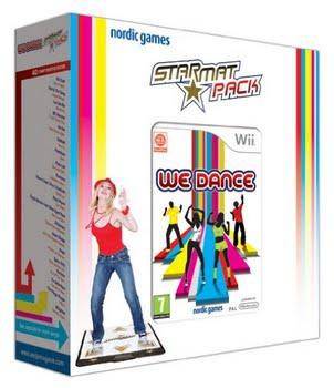 We Dance + 1 Star Mat (Nintendo Wii)