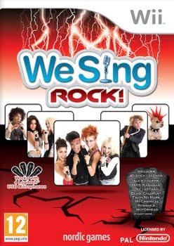 We Sing Rock (solus) (Nintendo Wii)