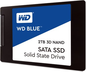 Western Digital Blue 3D NAND SATA SSD 2TB SATA III