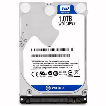 Western Digital Blue Mobile 1000GB SATA III interne harde schijf