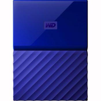 Western Digital My Passport 4TB Micro-USB B 3.0 (3.1 Gen 1) 4000GB Blauw externeharde schijf