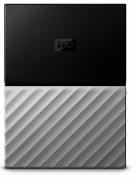 Western Digital My Passport Ultra 4000GB Zwart, Grijs externeharde schijf