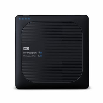 Western Digital My Passport Wireless Pro Externe draadloze HDD 4TB Zwart