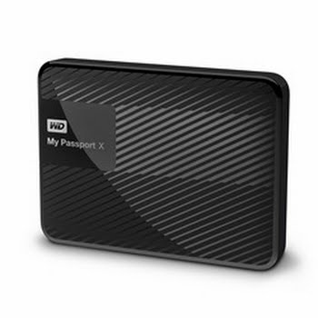 Western Digital My Passport X 3TB USB Type-A 3.0 (3.1 Gen 1) 3000GB Zwart externe harde schijf