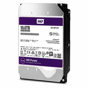 Western Digital Purple 10000GB SATA III interne harde schijf